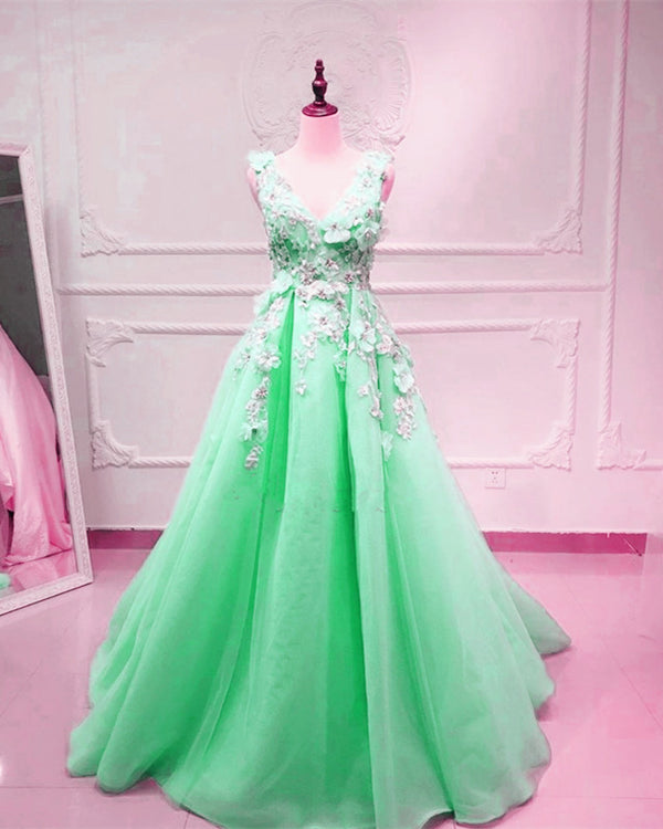 Mint Green Prom Dresses 2020