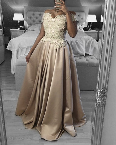 Image of Champagne Prom Dresses