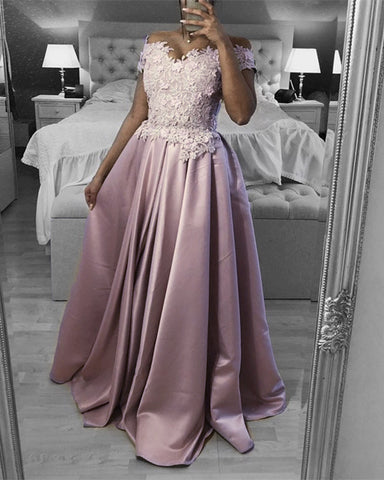 Image of Prom Dresses Pale Pink