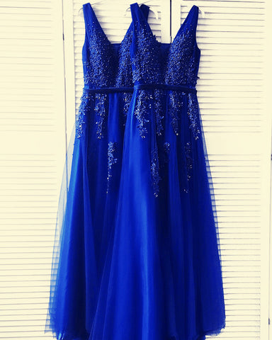 Image of Royal Blue Bridesmaid Gowns