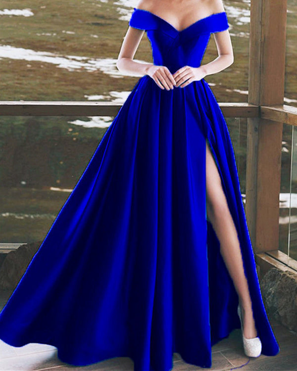 alinanova Royal Blue Prom Dresses 7016