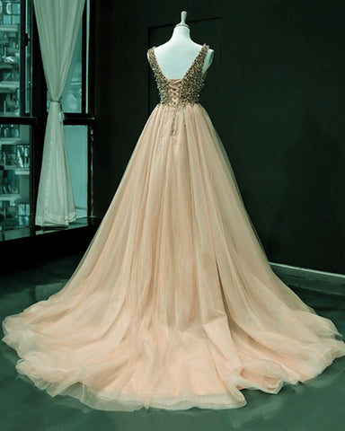 Peach Formal Dresses 2020