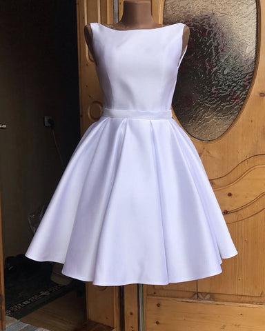 Image of White Homecoming Dresses 2019