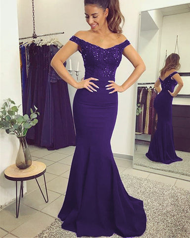 Image of alinanova 7013 Prom Dresses Purple