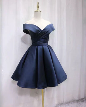 Dark Blue Homecoming Dresses