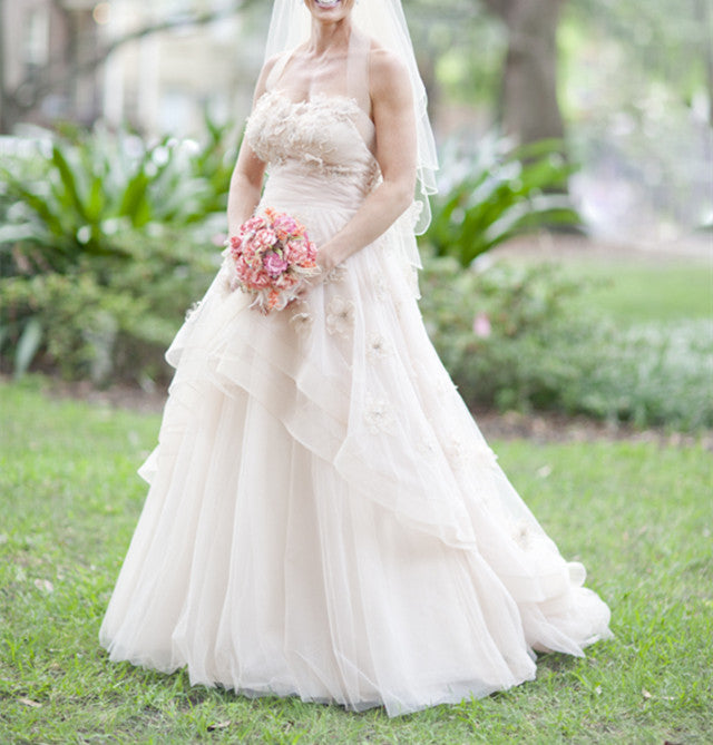 light-pink-wedding-gowns