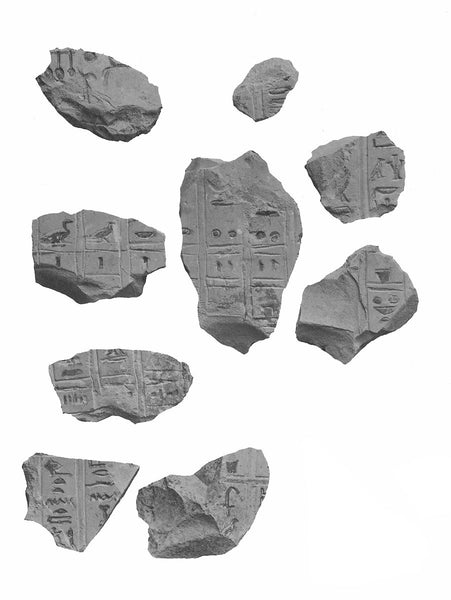 <i>Fragmentary offering list with mention of unguents and incense</i>, Egypt ca. 2051–2030 B.C.