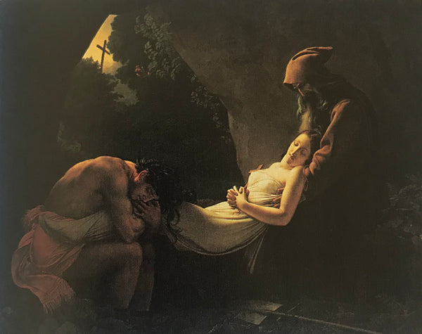Anne-Louis Girodet-Trioson, <i>The Burial of Atala</i>, 1808. Oil on canvas.