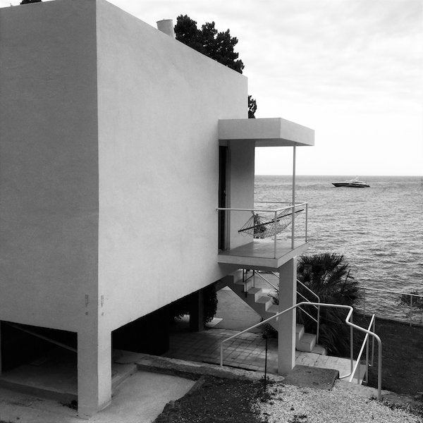 E-1027's Exterior, Eileen Gray's villa on the French Riviera — courtesy of Cap Moderne