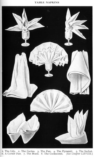 <i>Table Napkins</i>, Unknown Source