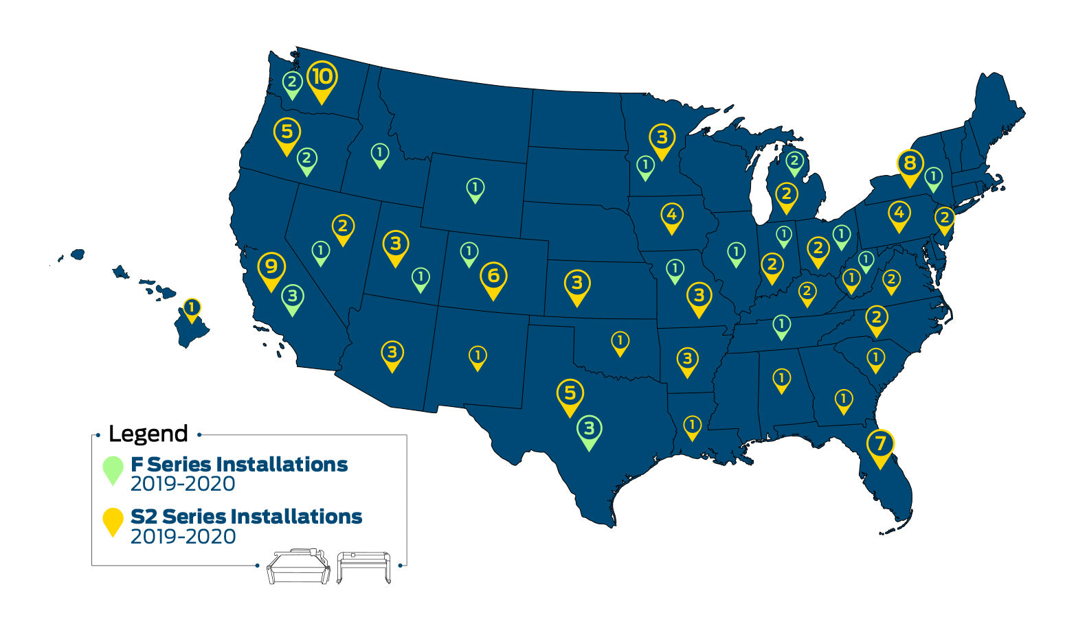 AirMark Summa Installation Map