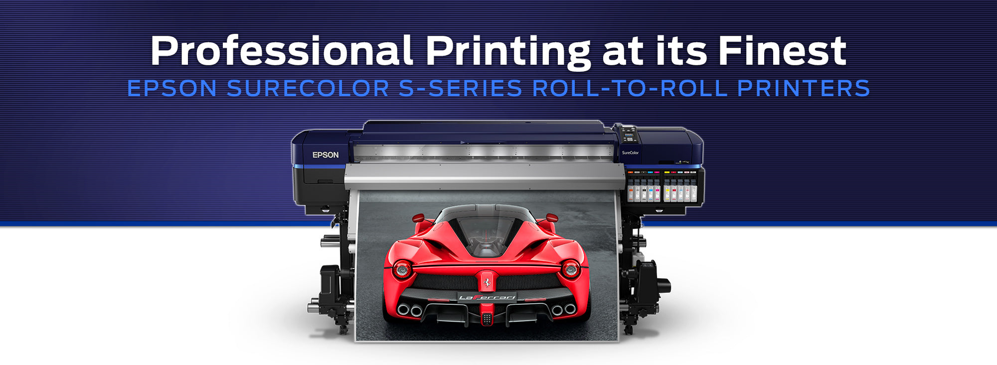 Epson SureColor S-Series Roll-to-Roll Sign Printer