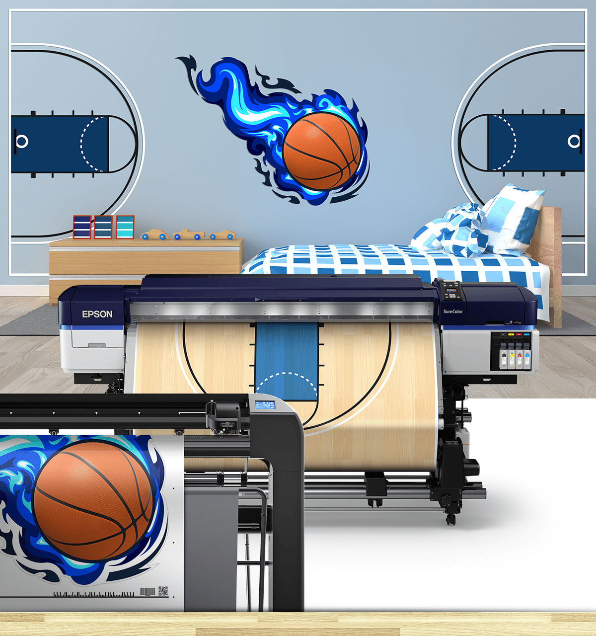 March Madness Vinyl Cutters Room