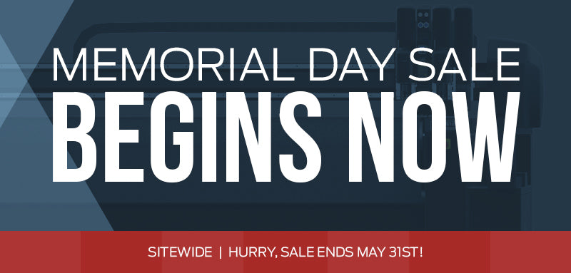 Memorial Day Sale - Sitewide!