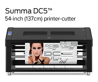 Summa DC5 Printer Cutter
