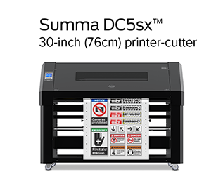 Summa DC5sx Printer Cutter