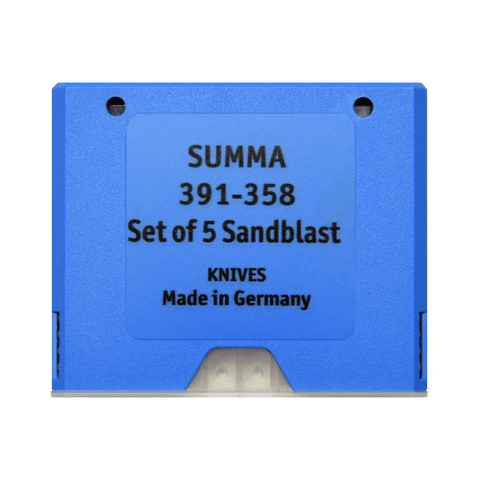 Summa 55° Thick Materials Blade, 5-pack