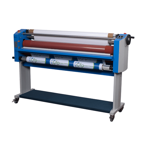 "Gfp 355TH 55"" Top Heat Laminator (Stand, Foot Switch, and Rewind Included)"