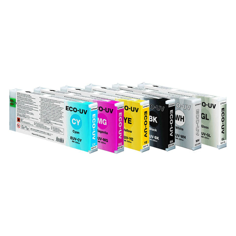 Roland DG ECO-UV Inks, 220cc Cartridges