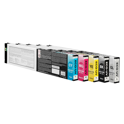 Roland DG ECO-UV4 500cc Ink Cartridges