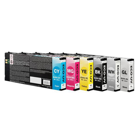 Roland DG ECO-UV4 Ink Cartridges