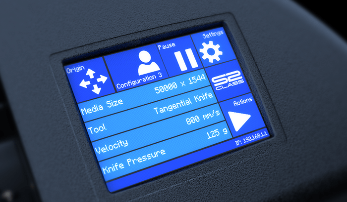 S2 Series Color Touchscreen
