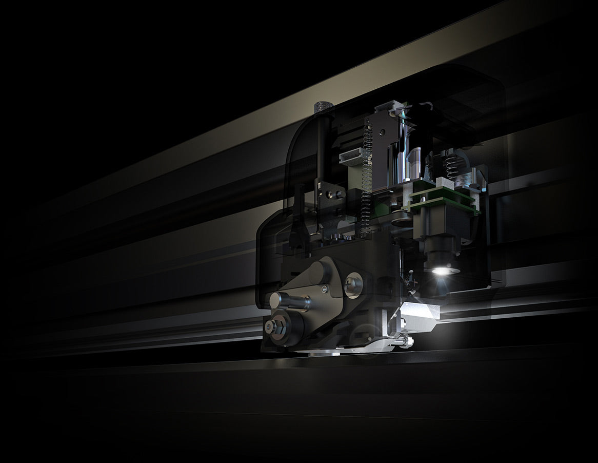 S2 Series Tangential Cutting Head with OPOS-CAM