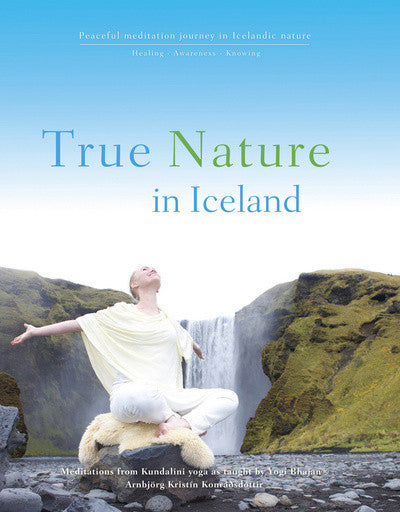 True nature in Iceland