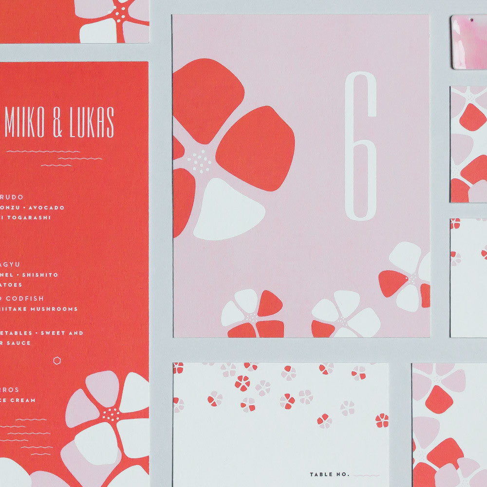 My Darlin' • Miiko Wedding Invitation Suite • www.mydarl.in