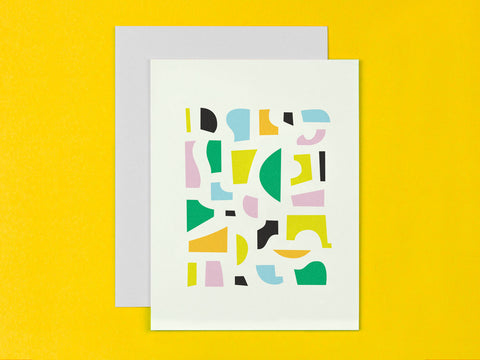 Hillgrove Abstract Pieces Pattern Blank
