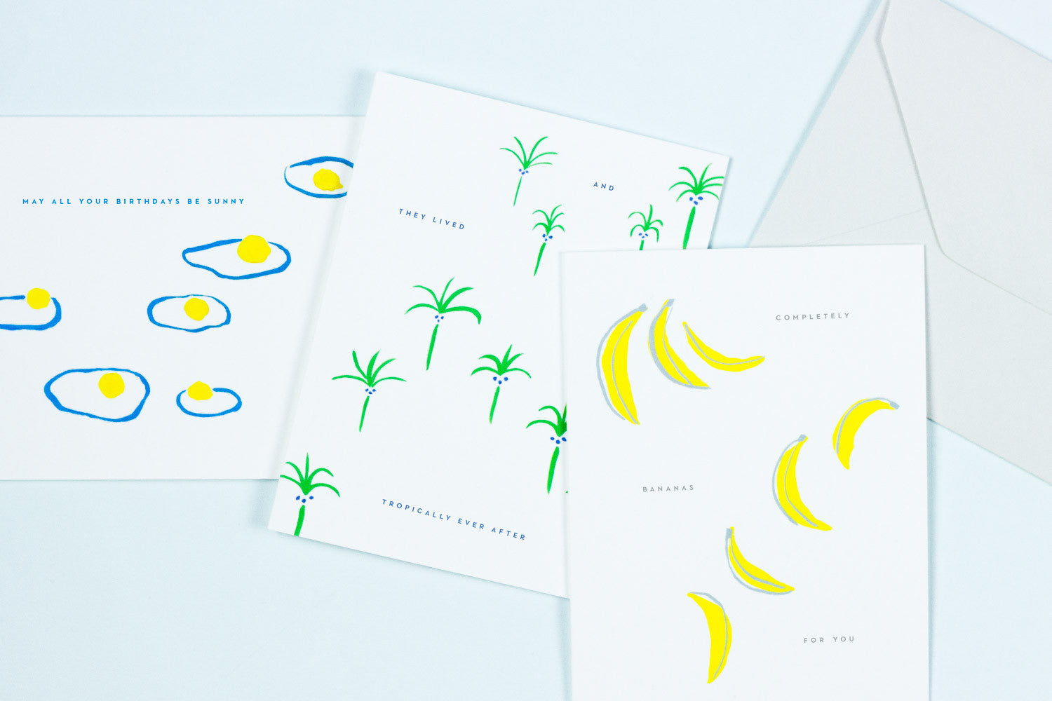 Greeting Cards by Brooklyn-based Paper Goods, Wedding Invitations, and Graphic Design studio, My Darlin' @mydarlin_bk