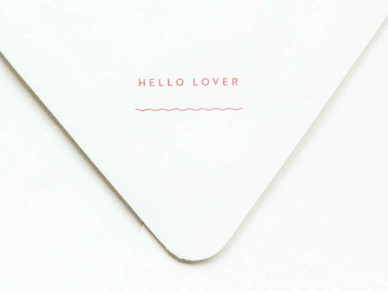 Hello Lover Notevelope & Bra or Briefs Notecard