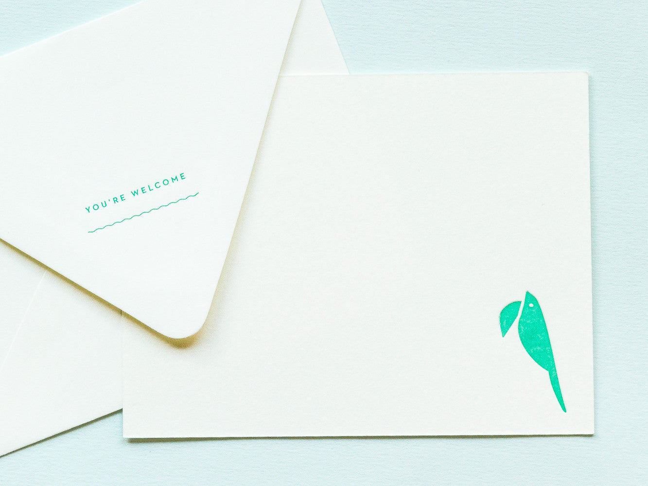 You're Welcome Notevelope & Toucan Notecard