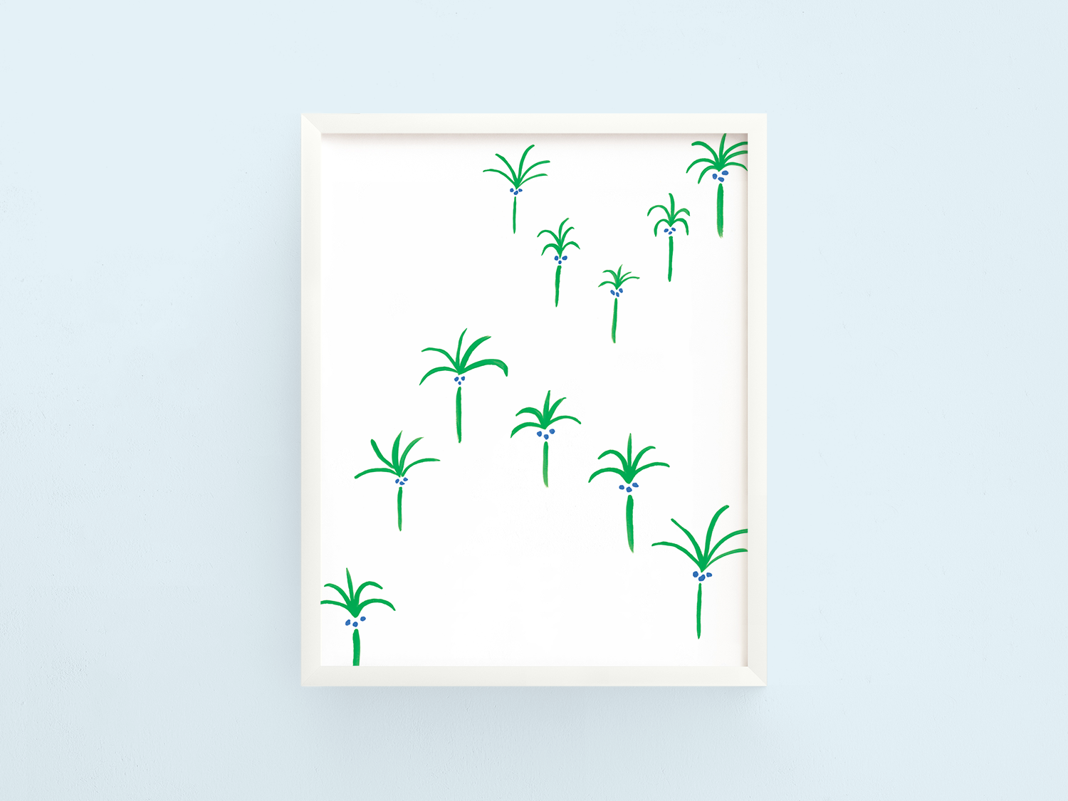 Floating Palms