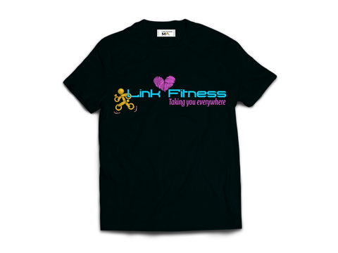 Abs Challenge Includes Link Fitness Limited Addition Breast Cancer T-Shirt