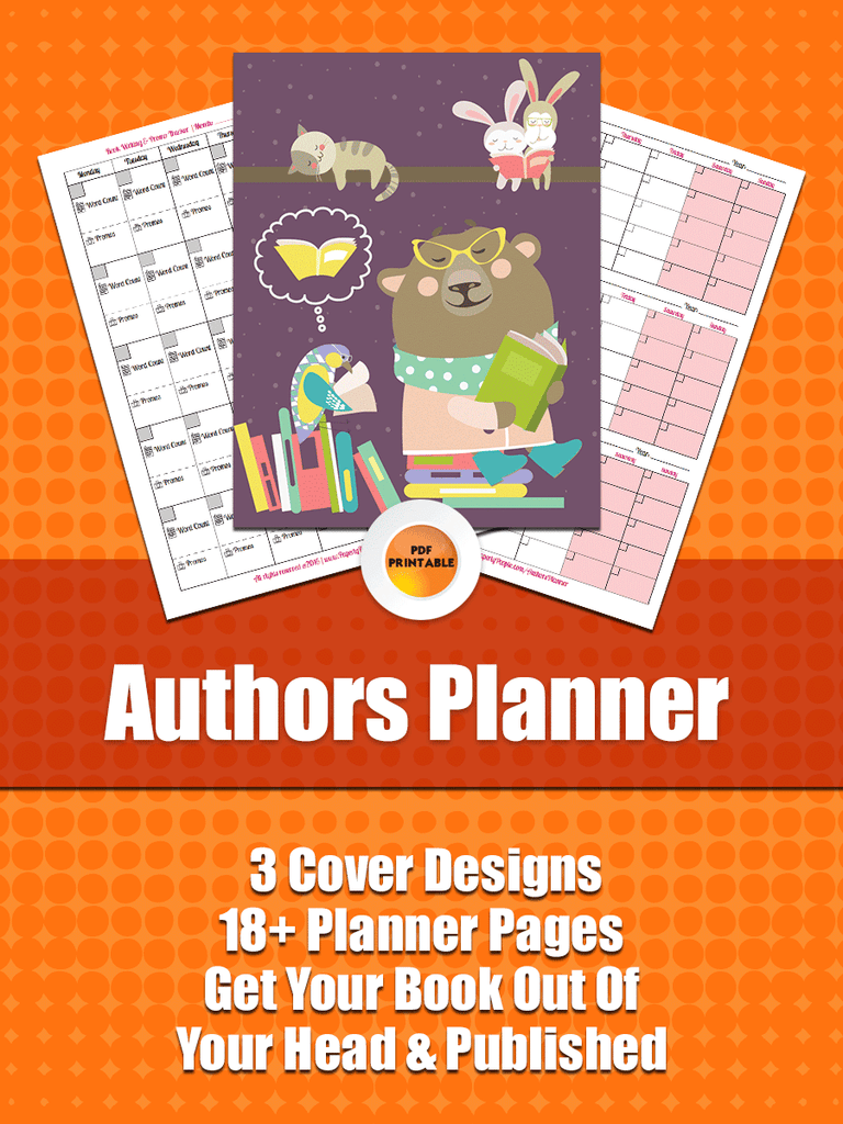 Authors Business Planner - This one is for book authors who want to get organized!