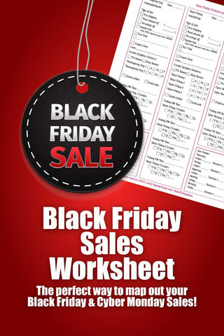 Black Friday Sale Worksheet