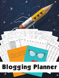 Blogging Planner - Great For Bloggers and Content Creators | PDF Printable