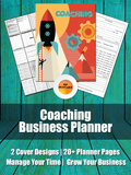 Coaches Planner | Business Planner For Life, Business, Fitness, Relationship or Any Other Kind of Coaching Program, Calendar for Coaches