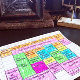 Time Management For Night Owls - Color Coding Your Perfect Week Worksheet