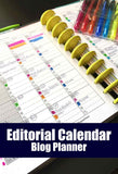Editorial Calendar (2 Styles) | Blog Planner
