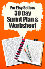 Etsy & Ebay (Worksheets)
