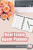 Real Estate Planner, Agenda Calendar, Goal Setting, & Lead Tracking