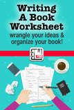 Writing A Book Worksheet