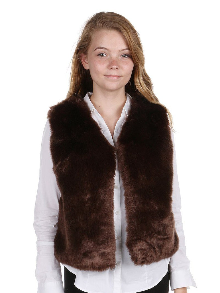 RUSSIAN STYLE SOFT FUR COFFEE