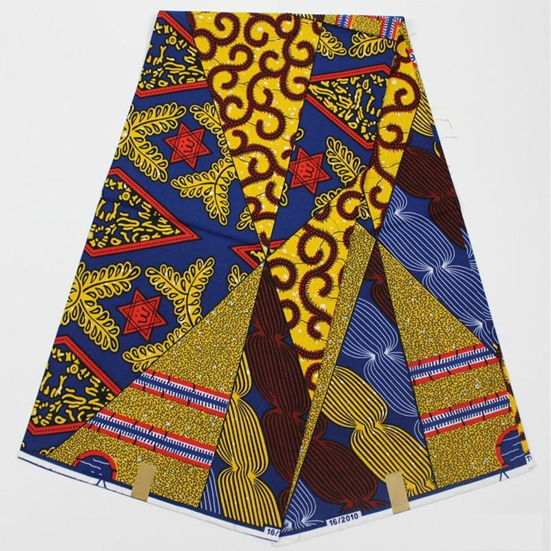 Real Ankara Wax African Dashiki Print Fabric