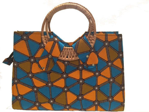 Ladies Designer Dashiki Handbags - My African Goods & Exotic Scents - 1