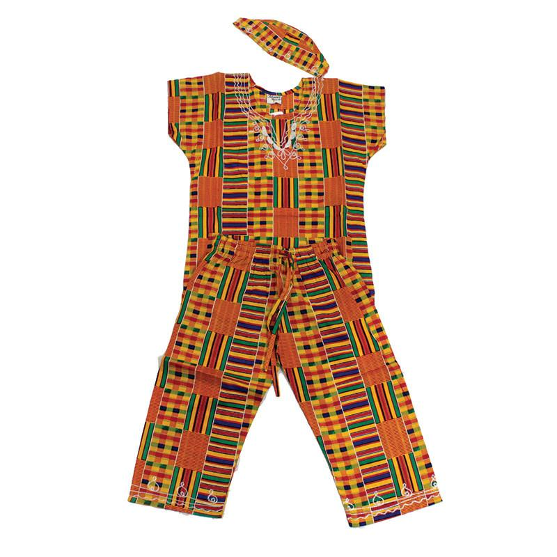 Kids Kente Set - My African Goods & Exotic Scents
