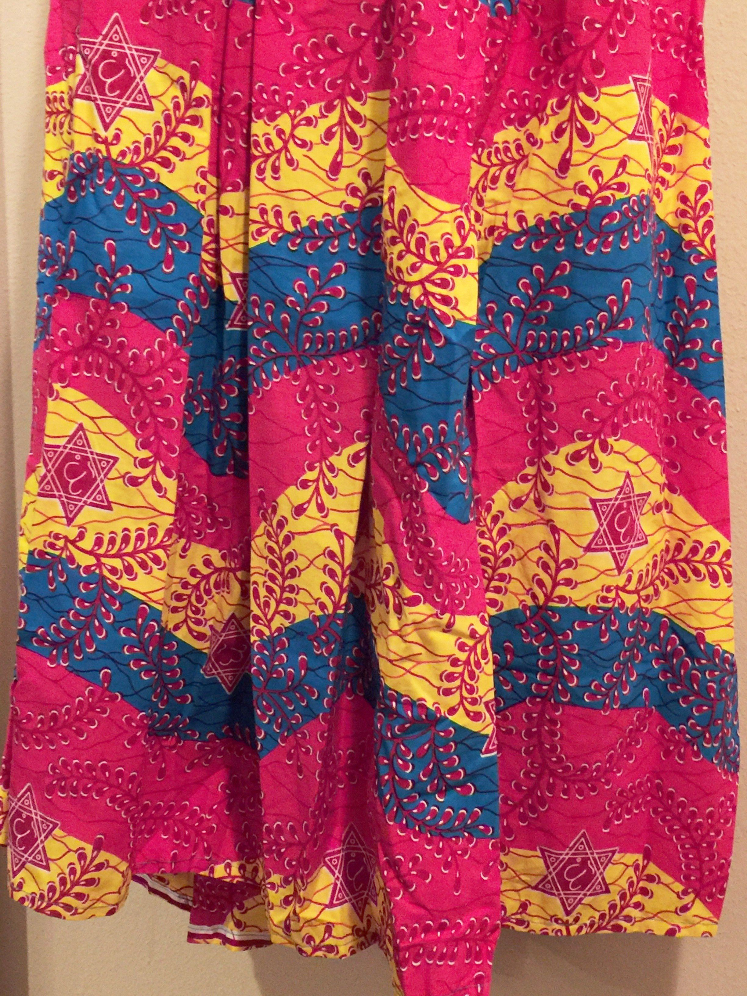 Handmade Classy African Print 2pc Maxi Skirt Set  (One of a kind)