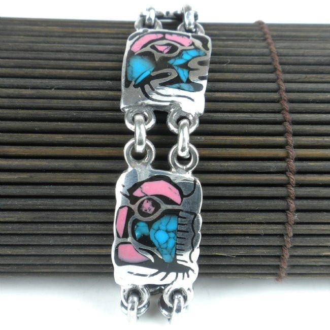 Colorful Link Bracelet - My African Goods & Exotic Scents